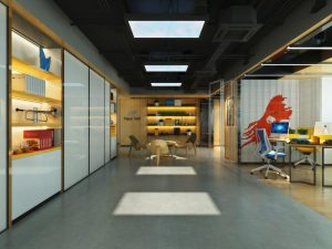 natural light office space - LED Skylights